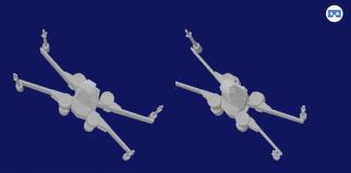3D Slash starwars