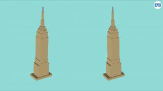 3D Slash empire state building