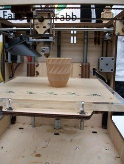 woodfill  3d printed on ultimaker