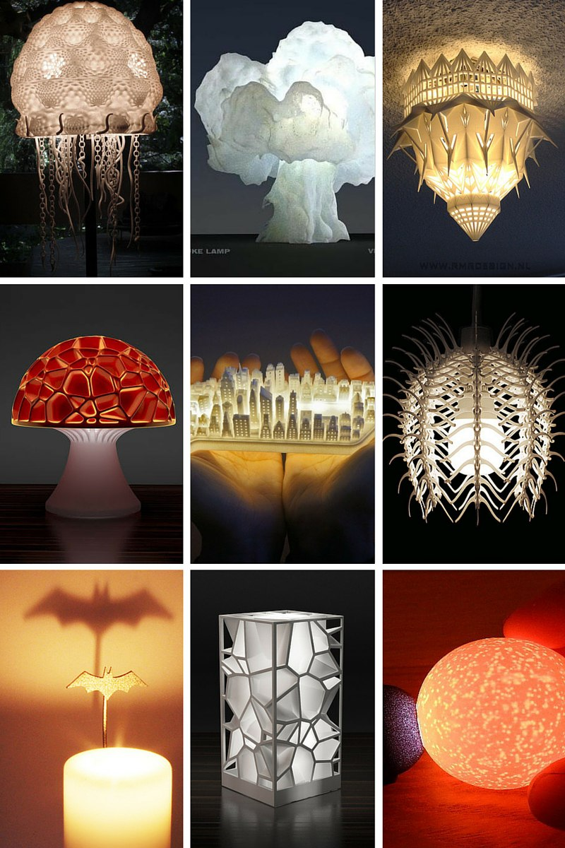 Cool lamp shades - Ever Wondered What The Best 3d Printed Lamps Look Like Here S A Break Down Of The Coolest Lamps I Ve Seen In The 3dprinting World Over The Past Few Years