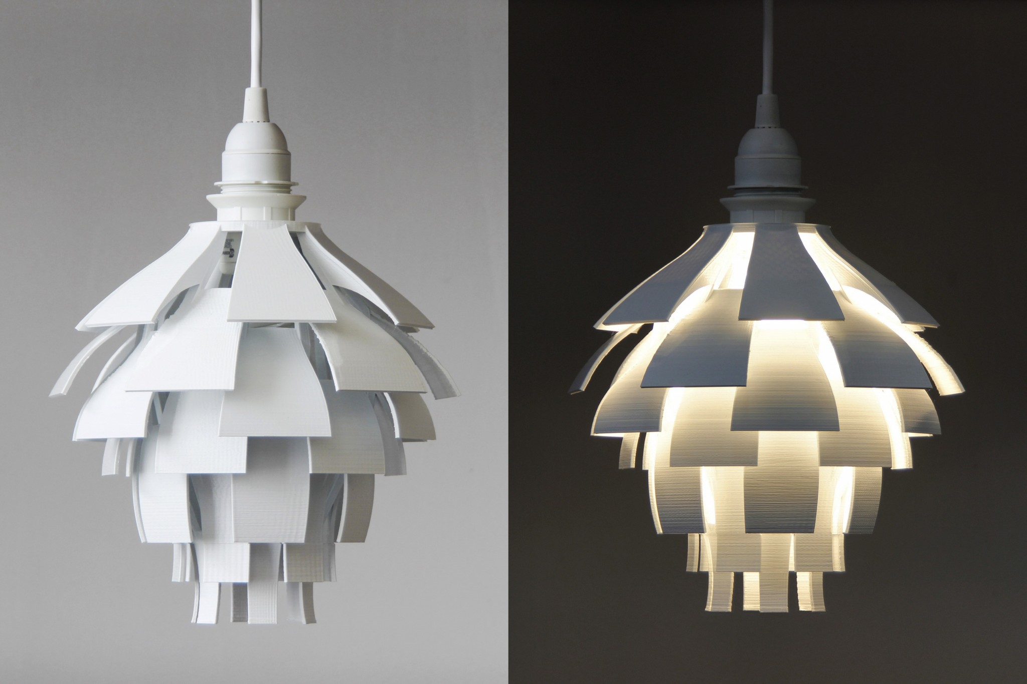 Cool lamp shades -