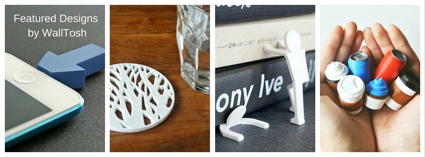 3D printing designs by Wall tosh
